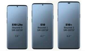 Samsung Galaxy S10 Plus i Lite w jednym z benchmarków