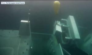 Zobaczcie podwodny film z okrętu Helge Ingstad