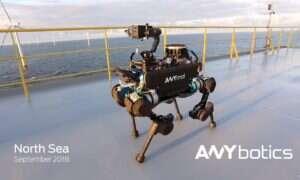 Autonomiczny robo-pies ANYbotics patroluje nadmorską elektrownie