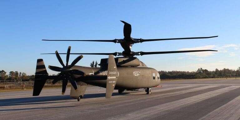 Defiant, helikopter defiant, sikorsky, boeing, nowy helikopter, black hawk, armia usa