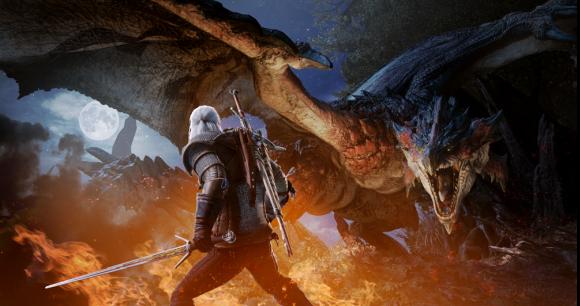 Wiedźmin Geralt dostanie serię zadań w Monster Hunter: World