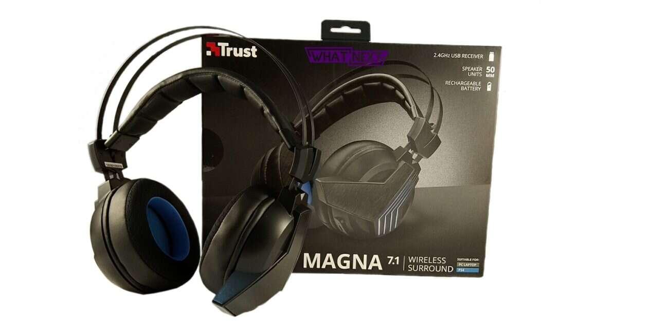 Test słuchawek Trust GXT 393 Magna