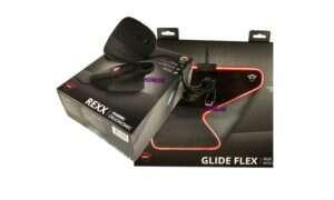 Test myszy wertykalnej Rexx i podkładki Glide-Flex RGB od Trusta