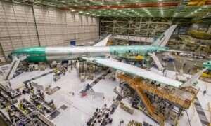 Największy silnik turbinowy GE9X od Boeinga jest już gotowy