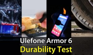 Nowy film pokazuje wytrzymałość Ulefone Armor 6