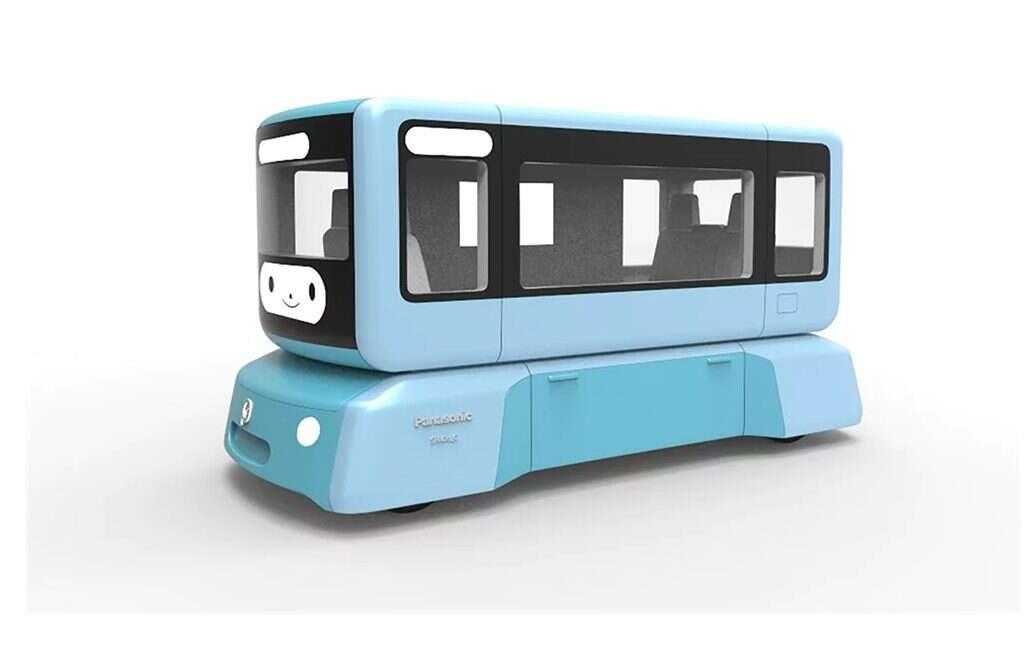 Koncept SPACe_C od Panasonic łączy transport publiczny z autonicznością