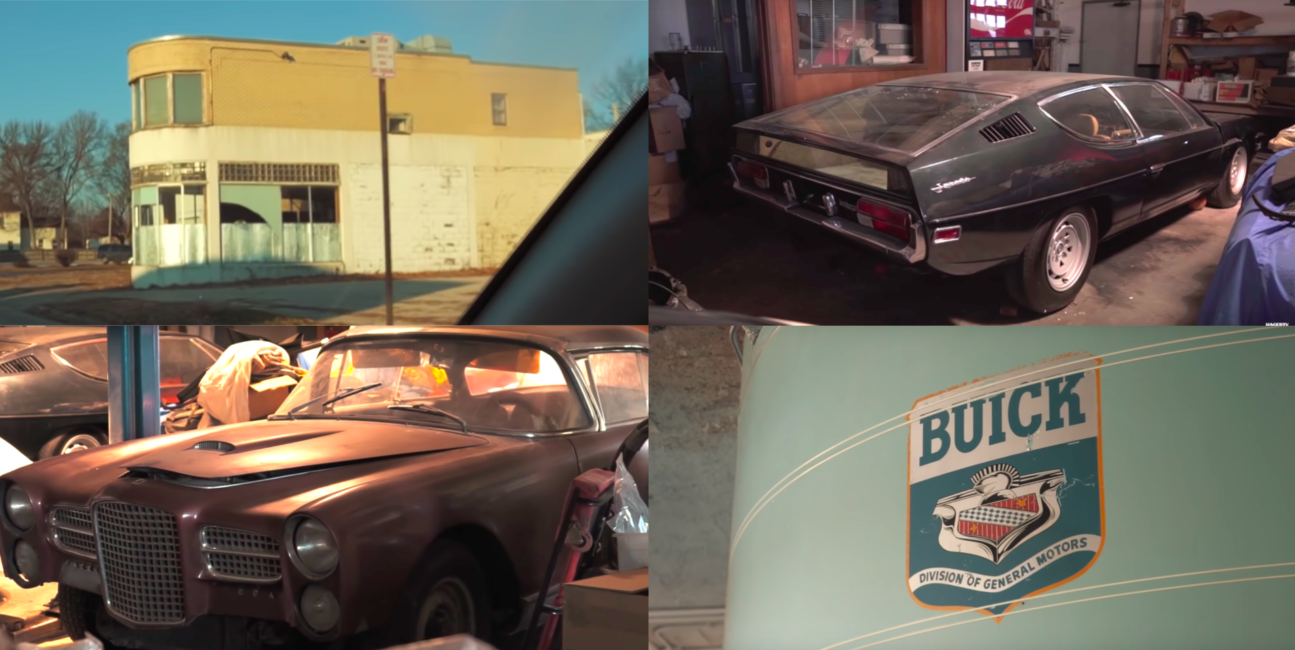 Były punkt dealerski Buick okazał się świetnym miejscem dla kolekcji klasyków