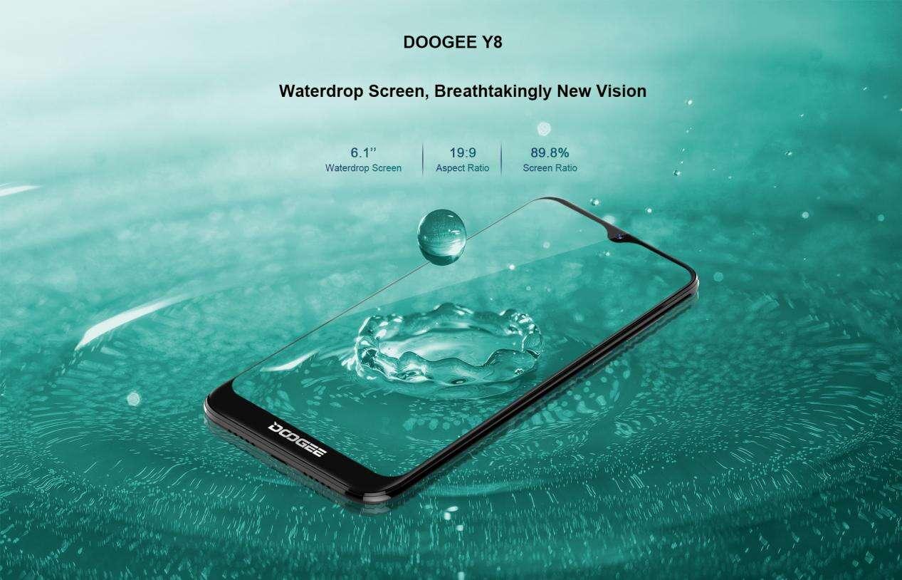 Doogee Y8, cena Doogee Y8, specyfikacja Doogee Y8, dostępność Doogee Y8