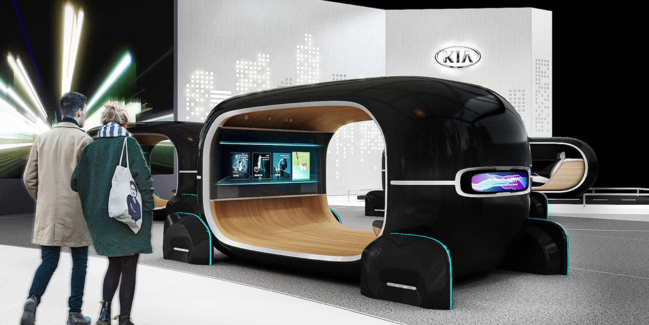 System R.E.A.D. od Kia dostosuje wnętrze samochodu do nastroju pasażera