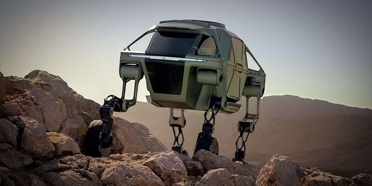 Prezentacja konceptu Elevate od Hyundaia