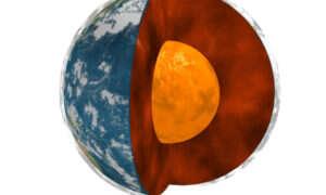 Rdzeń Ziemi jest znacznie młodszy od samej planety