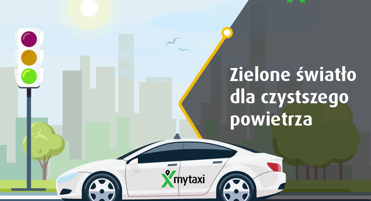 mytaxi, eco mytaxi, ekologiczna taksówka, ekologiczna taksówka mytaxi, kalsa eco mytaxi,