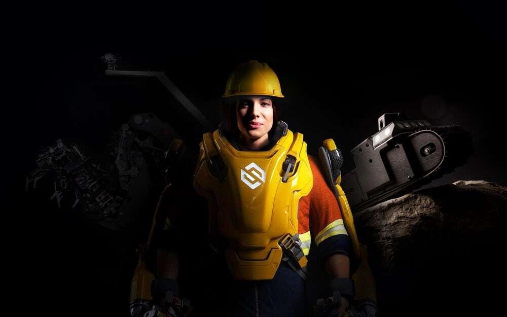 Egzoszkielet Guardian XO Max zwiększa siłę operatora dwudziestokrotnie