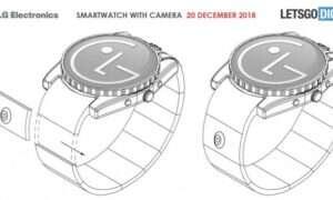 LG patentuje smartwatcha z aparatem