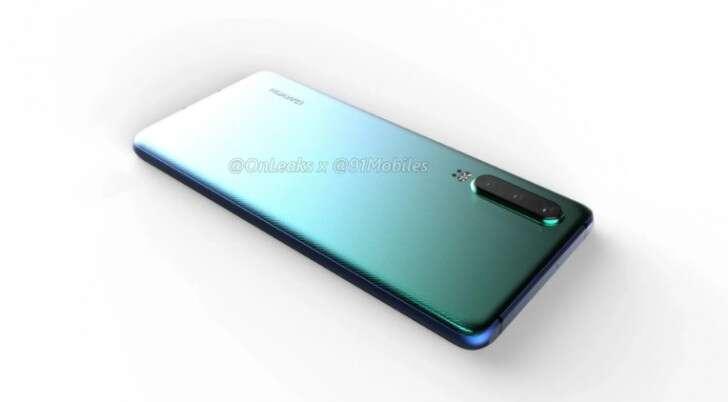 Huawei P30, rendery Huawei P30, render Huawei P30, wygląd Huawei P30, zdjęcia Huawei P30,