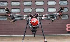 Oparty na wodorze multicopter wytrzymał 70 minut lotu