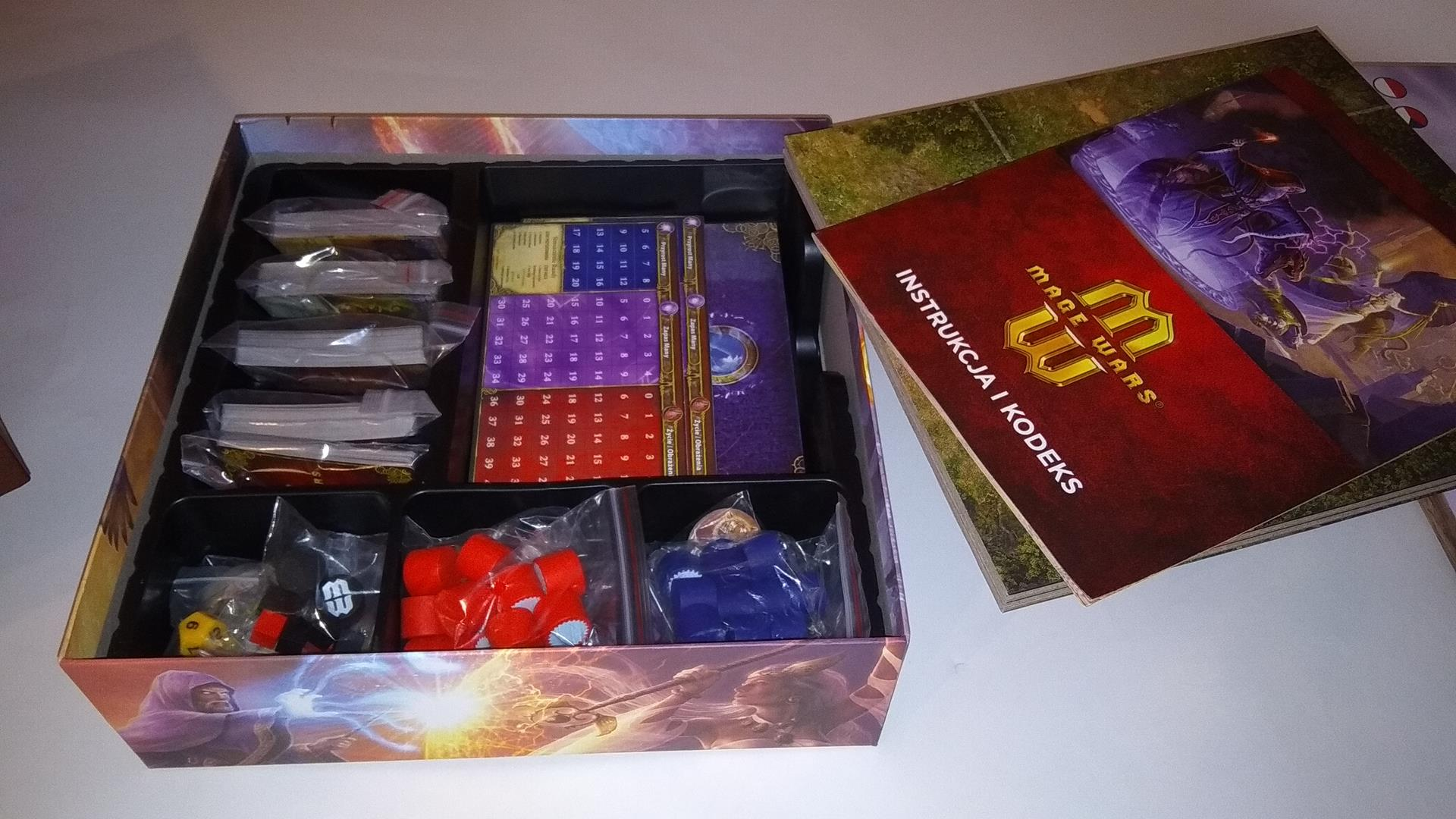 Mage Wars: Arena pudło