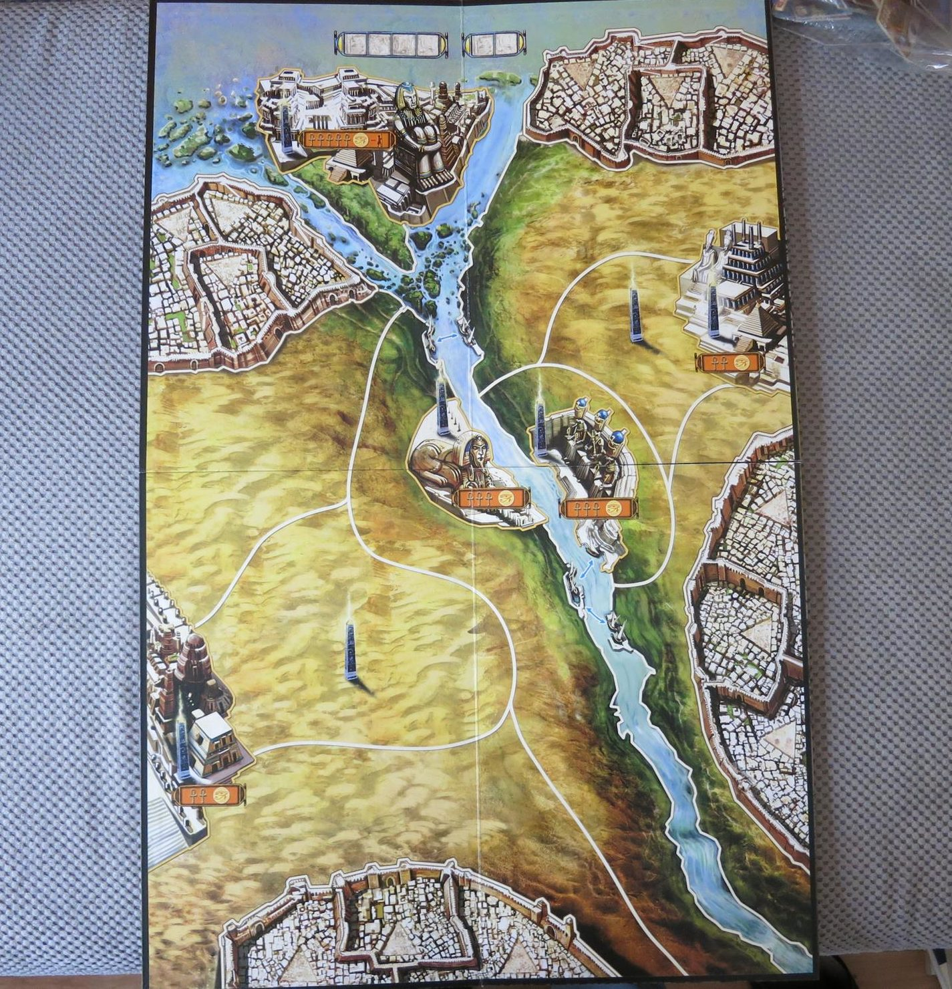 Kemet mapa