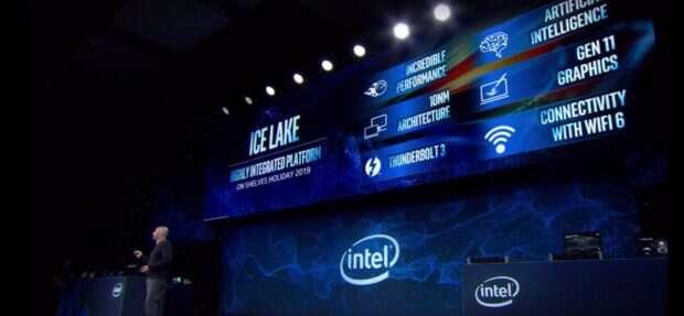 Intel zaprezentował wreszcie 10nm układy SoC Ice Lake