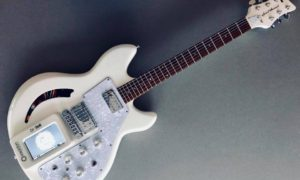 Koncepcyjna gitara Spirit Animal łączy struny z syntezatorem