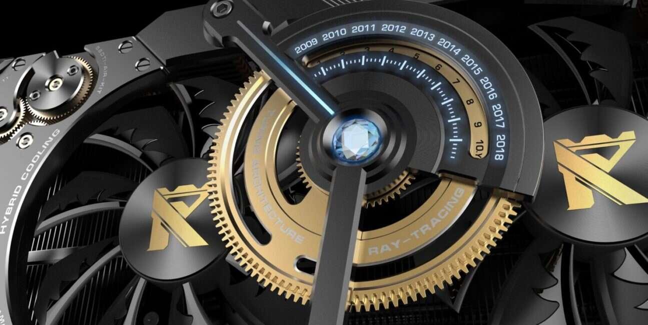 Najszybsza wersja GeForce RTX 2080 Ti od Colorful w steampunkowym wydaniu