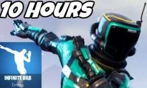 YouTuber streamował dabującą postać Fortnite przez 10 godzin