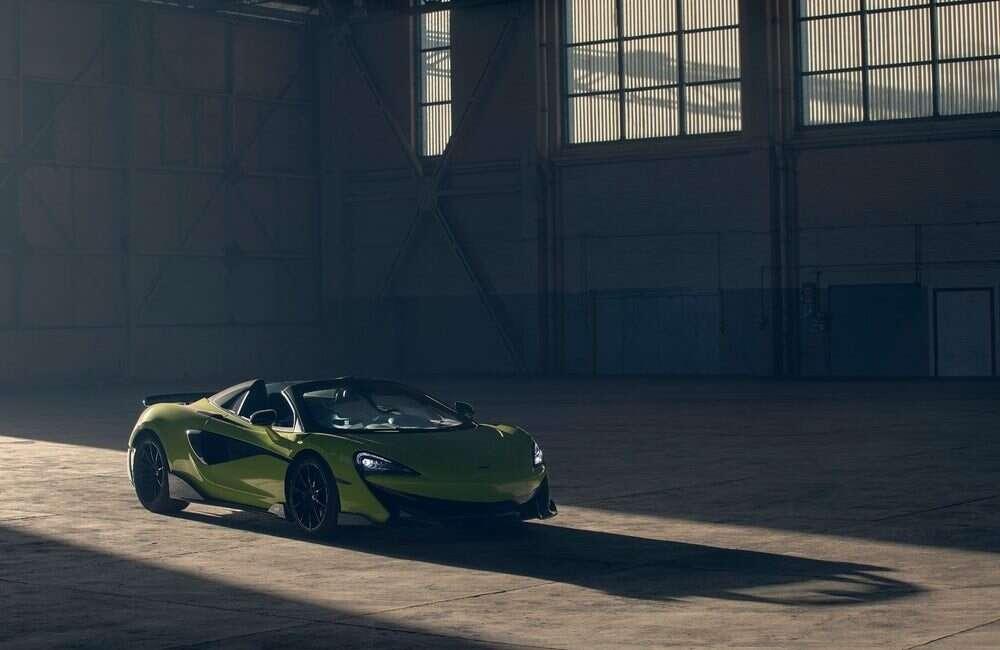 McLaren 600LT doczekał się wydania Spider