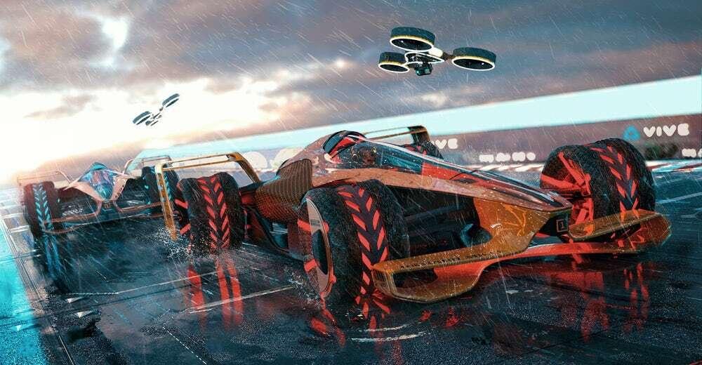 Wizja McLaren na w pełni elektryczny samochód F1