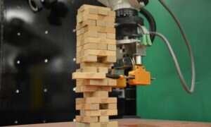 Temu robotowi grającemu w Jengę finezji może zazdrościć wielu