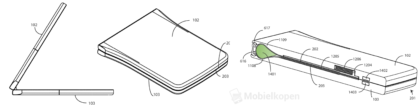 Motorola Razr, patent Motorola Razr, wygląd Motorola Razr, design Motorola Razr, składany smartfon motorola