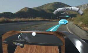 I2V Nissana wrzuca AR na przednią szybę samochodu