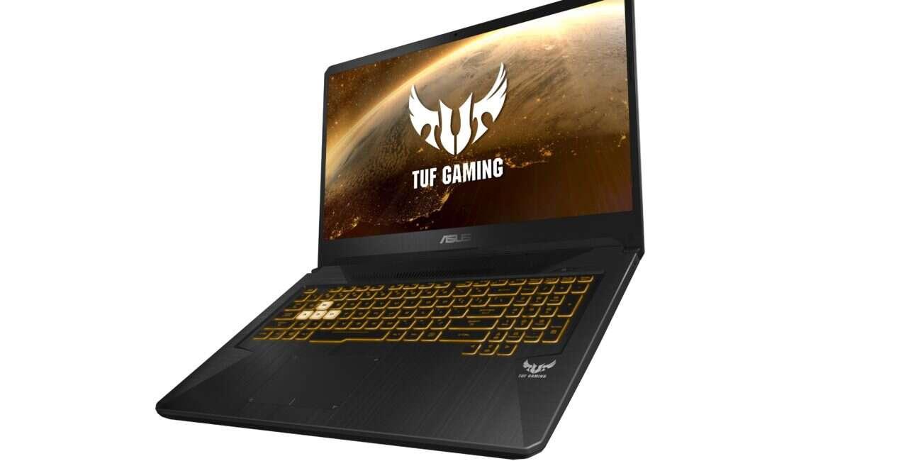 Gamingowe laptopy TUF od ASUSa stawiają na AMD