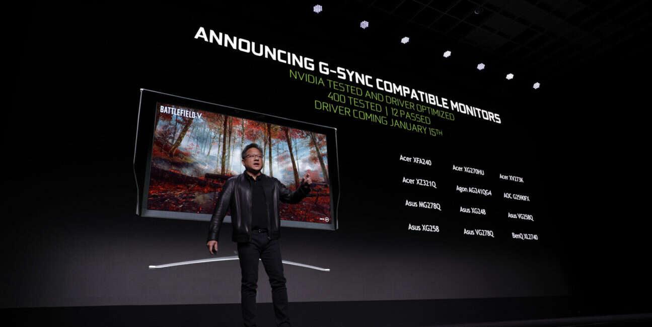 Nvidia uaktywni technologię G-Sync na modułach FreeSync AMD
