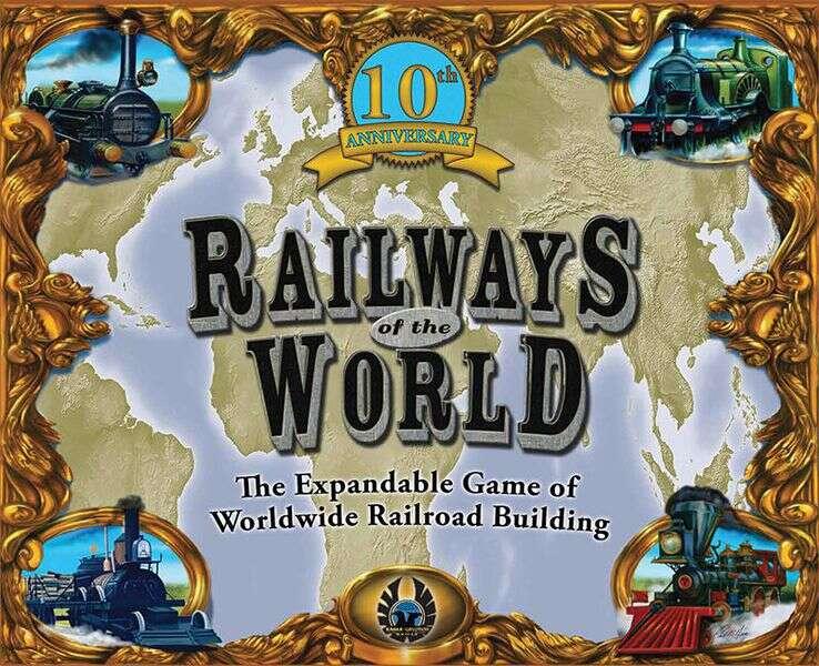 Railways of the World tło