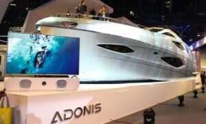 Czym jacht Adonis zasłużył sobie na występ na targach CES?