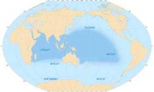 Wody Pacyfiku sprzed kilkuset lat od niedawna się mieszają