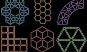 Ten program komputerowy przekształca rysunek w strukturę DNA