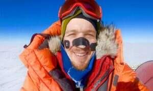 Colin O'Brady samotnie przemierzył Antarktydę