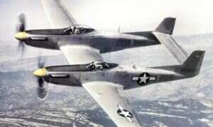 XP-82 Twin Mustang po wielu latach znowu wzniósł się w powietrze