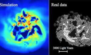 Co się dzieje z ciemną materią podczas formowania gwiazd?
