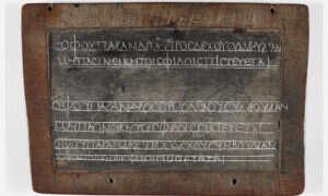 Co zostało zapisane na starożytnej tabliczce sprzed 1800 lat?