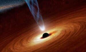 Obracające się czarne dziury mogą pomóc w podróżach kosmicznych