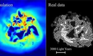 W umierających galaktykach ciemna materia zachowuje się inaczej