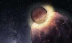Kolizja z ogromnym obiektem doprowadziła do powstania życia na Ziemi?