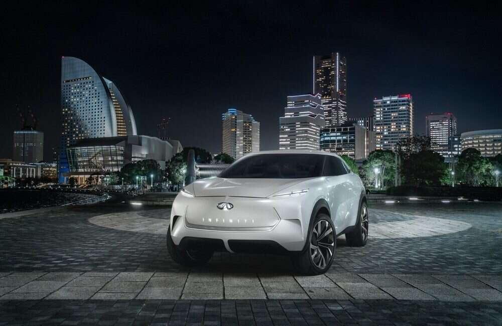QX Inspiration to koncept elektrycznego samochodu Infiniti
