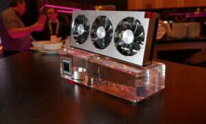 Ograniczone zasoby i brak niereferencyjnych modeli karty Radeon VII