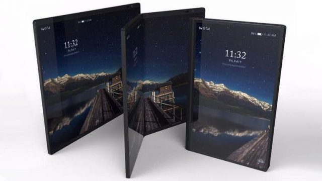 Zginany smartfon Samsunga, samsung, galaxy x, galaxy flex, galaxy, f, premiera zginanego smartfona, premiera składanego smartfona