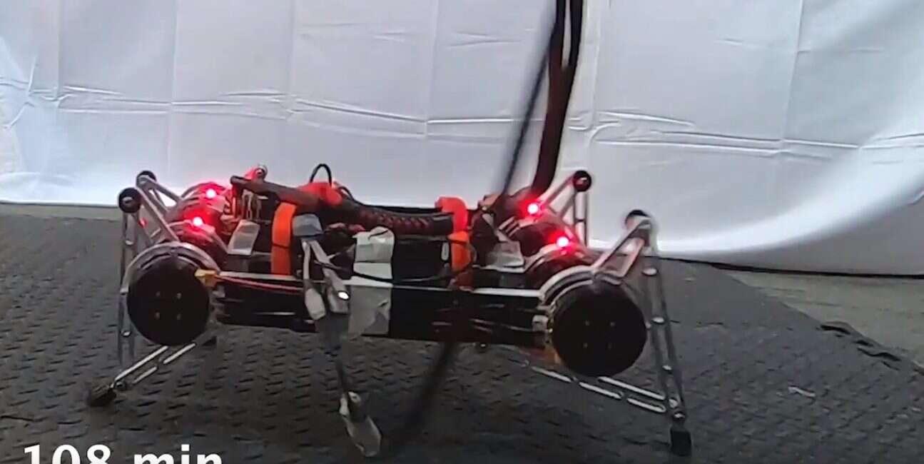Ten system SI uczy roboty chodzenia