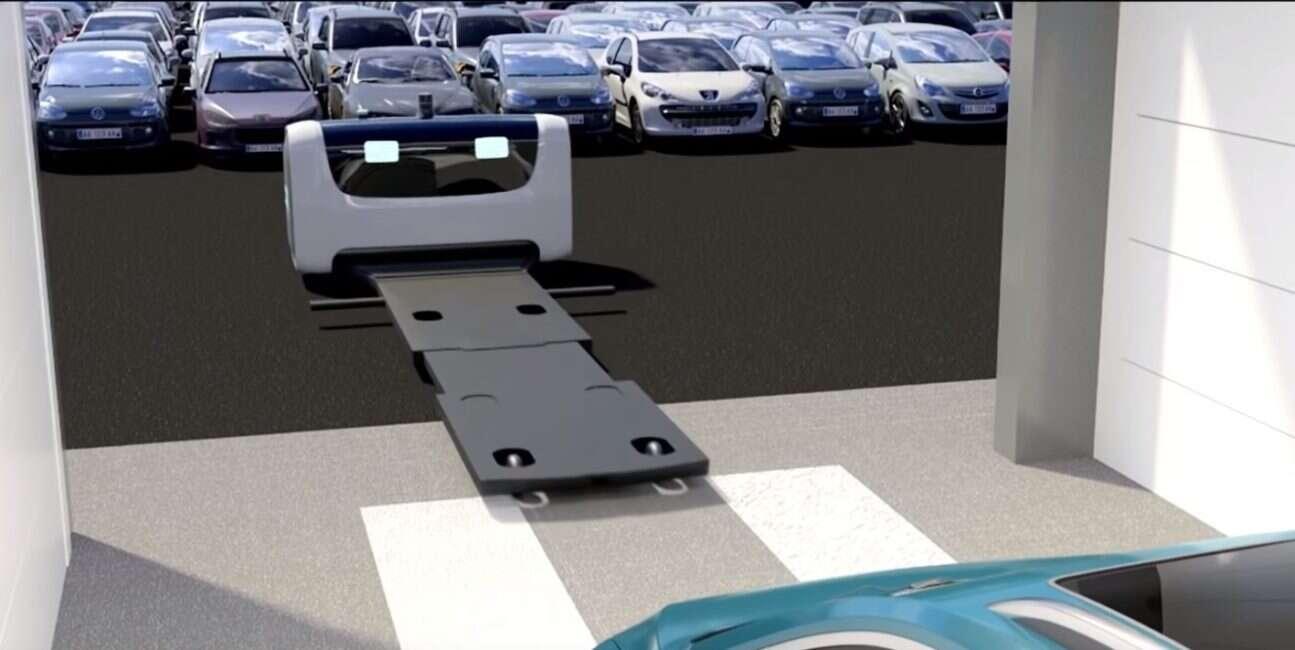 Autonomiczny robot Stan uwolni kierowców od parkingowego strachu na lotniskach