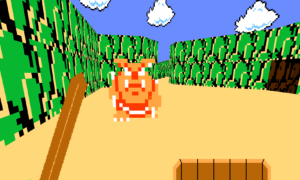 The Legend of Zelda odtworzona w… Doomie